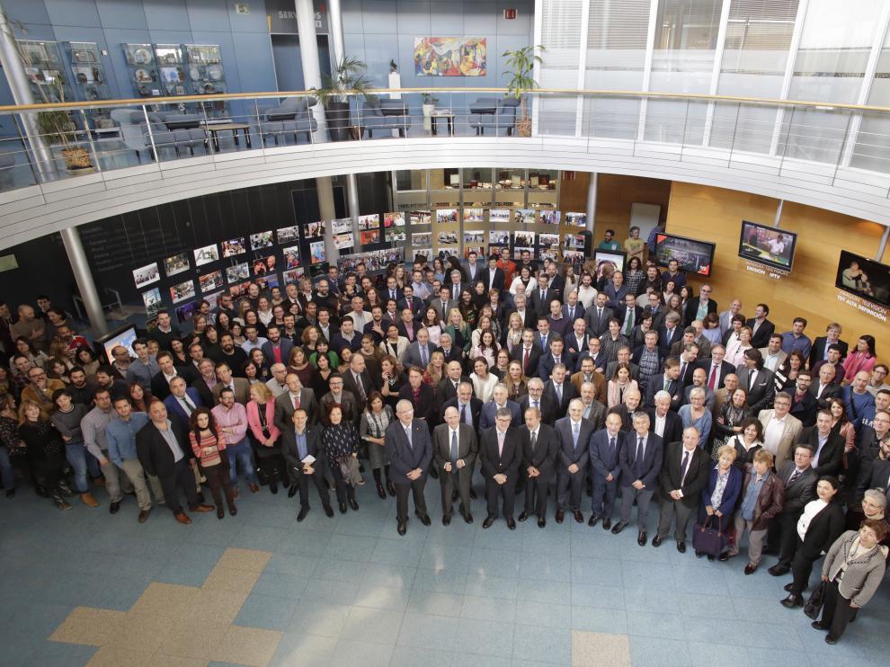 Celebración del 10º aniversario de la televisión pública aragonesa