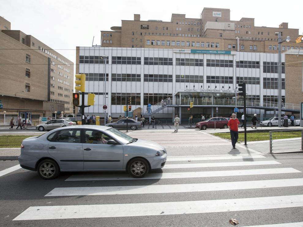 La operación tuvo lugar en el hospital Miguel Servet