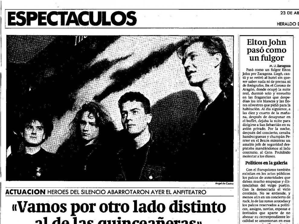 Información publicada en Heraldo de Aragón