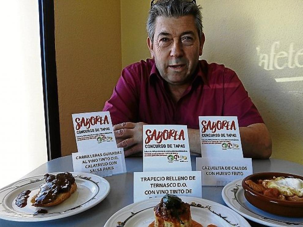 El restaurante San Antonio, con sus tres tapas.