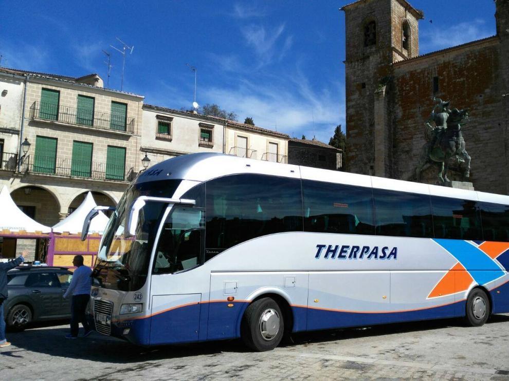 Un autobús de Therpasa