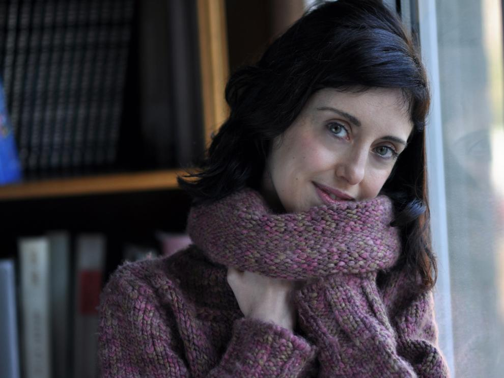 La escritora aragonesa Irene Vallejo.