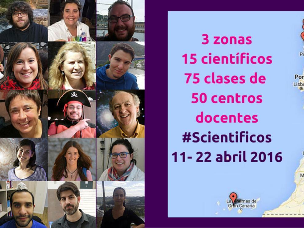 Más de mil alumnos han participado en esta primera edición española de 'Somos científicos'.