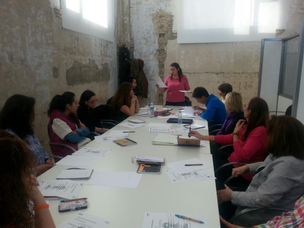 Sesión del grupo Vives Emplea Zaragoza.
