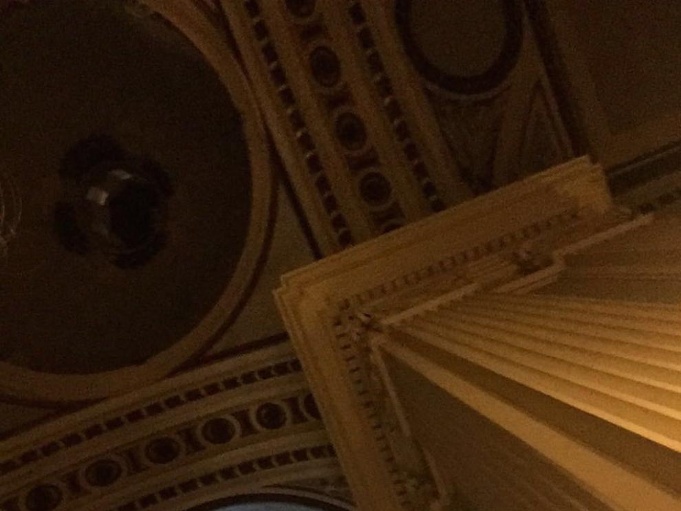 Antonio López pretendía pintar un gran rostro de mujer en una de las cúpulas del Pilar.