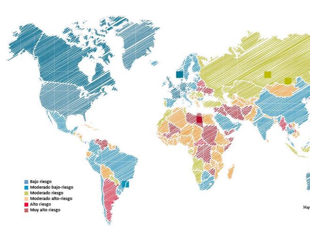 Países que ofrecen mayores garantías de pago