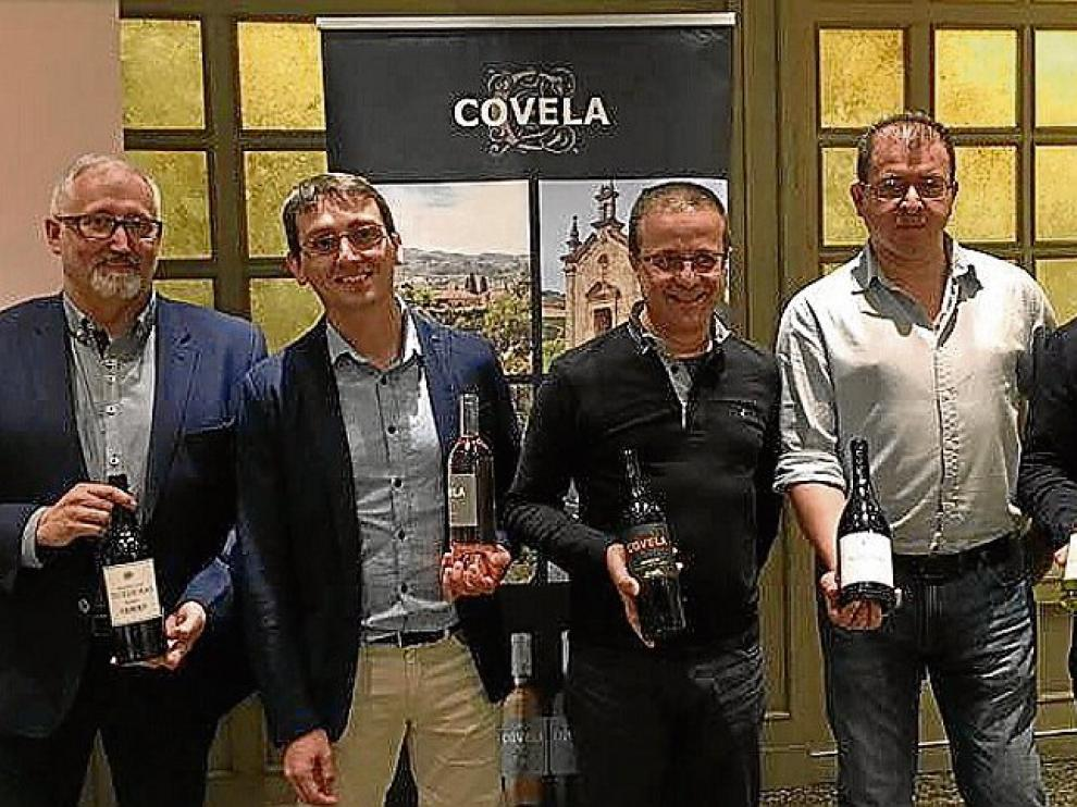 Carlos Acirón, Raúl Igual, Vitor Mendes, Luis Dias y Roberto Morales.