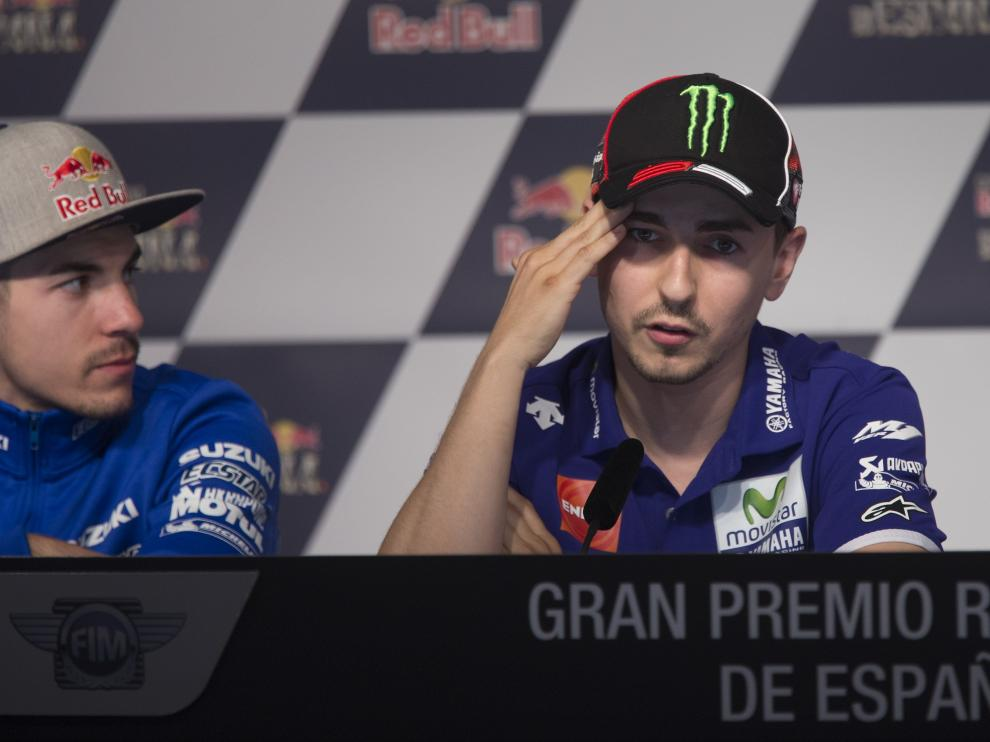 Rueda de prensa del Gran Premio de España de Motociclismo