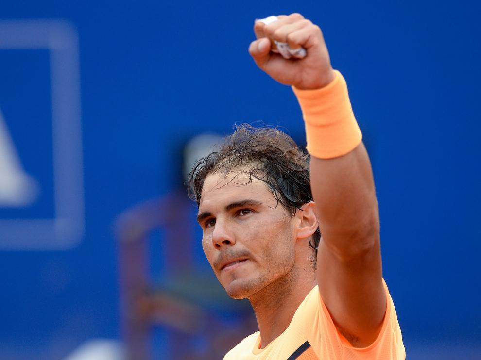 Nadal vence Fognini en los cuartos de final del Barcelona Open Banc Sabadell.