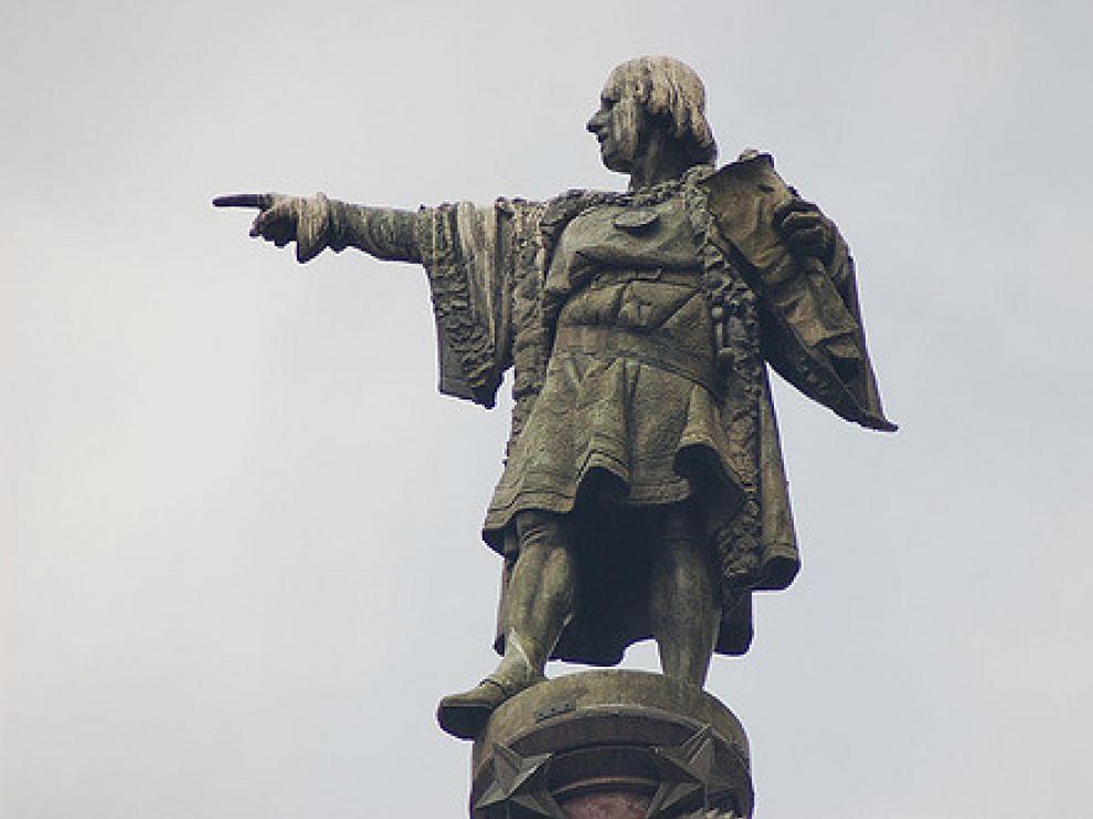 Estatua de Cristobal Colón