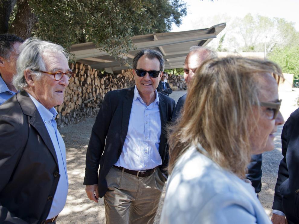 El expresidente de la Generalitat, Artur Mas,