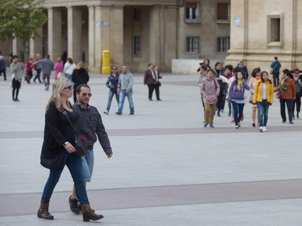 Zaragoza en alerta por viento y