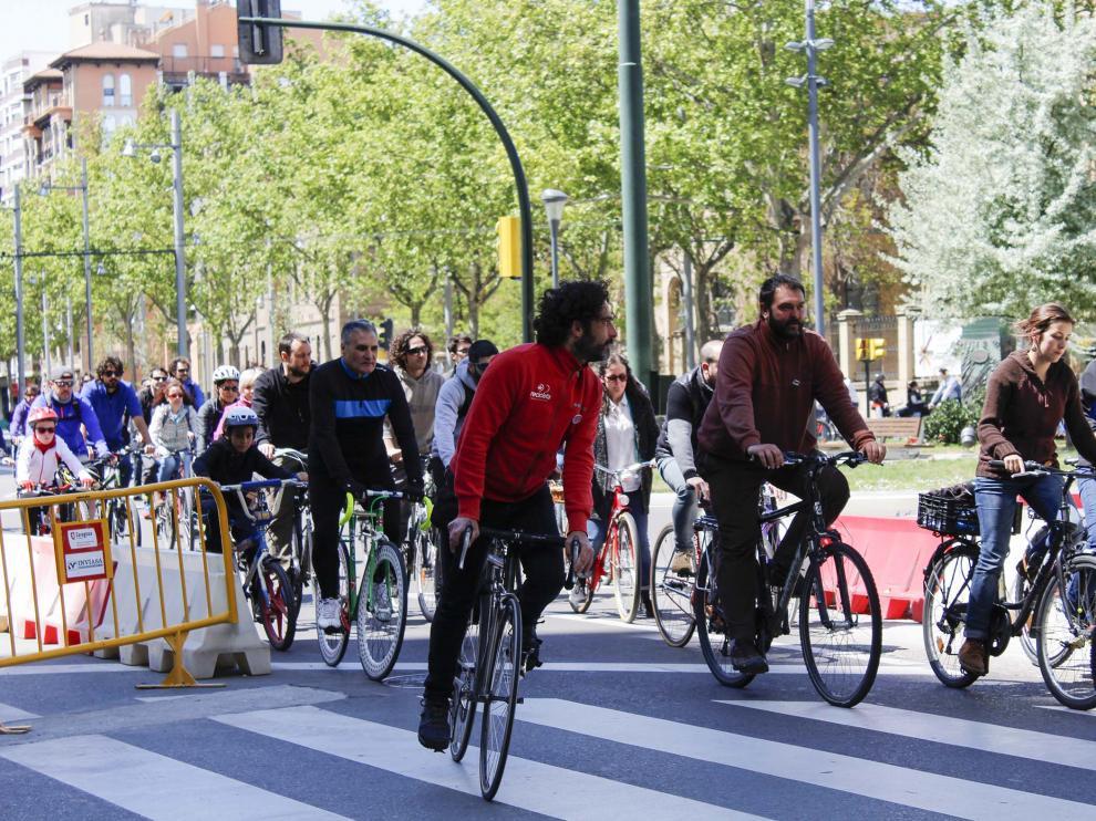 Pedalea anima a los ciclistas a recorrer los nuevos carriles-bici