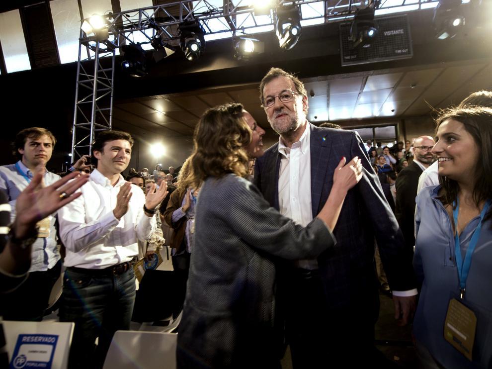 El mitin de este domingo de Rajoy ha tenido un marcado carácter electoral