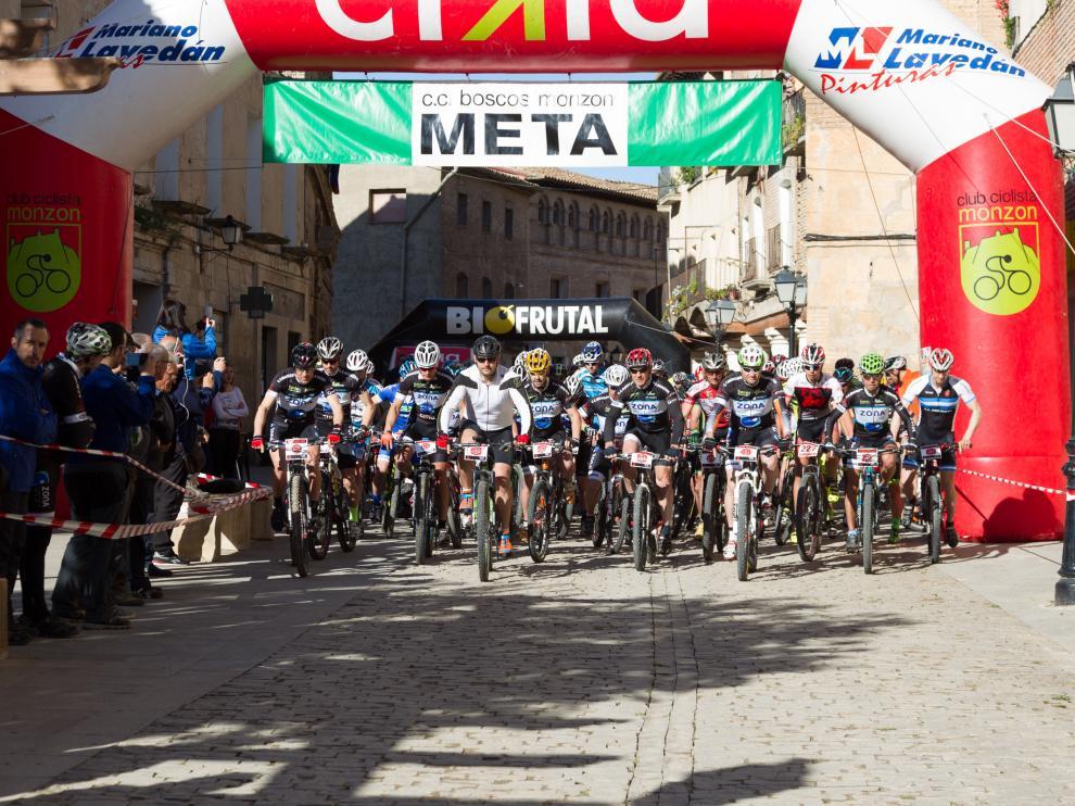 Participantes en la carrera de Fonz.