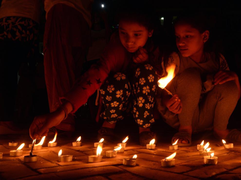 Aniversario del terremoto de Nepal