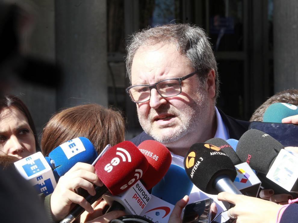 El concejal delegado de Salud, Seguridad y Emergencias del Ayuntamiento de Madrid, Javier Barbero.
