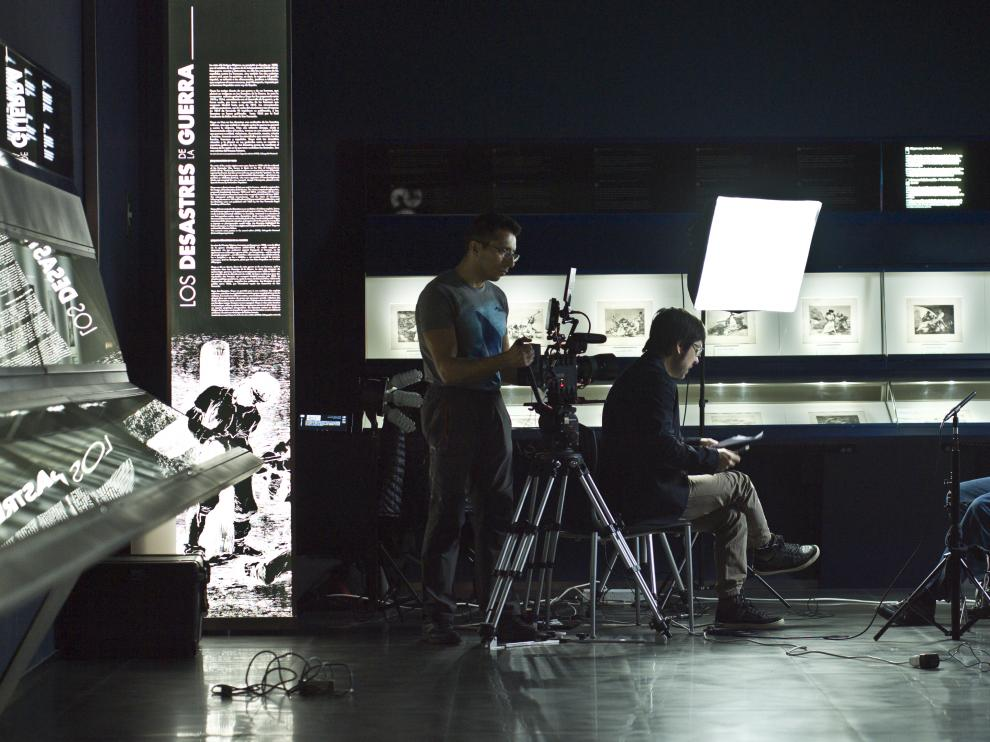 Rodaje de 'Goya, siglo XXI', de Germán Roda