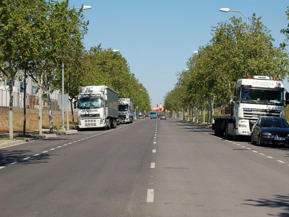 Utebo habilita un nuevo aparcamiento para sacar los camiones del casco urbano