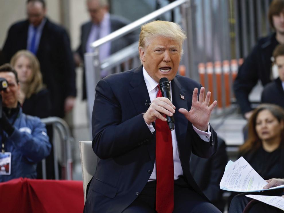Donald Trump, encabeza la carrera hacia la Presidencia.