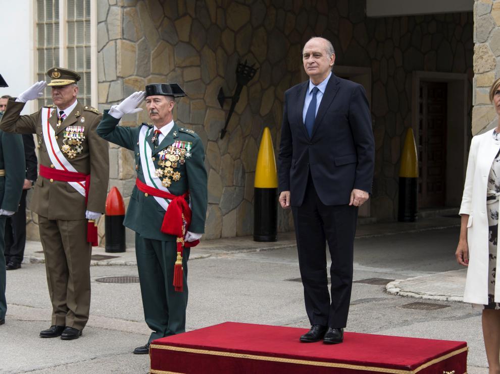 Fernández Díaz, en un acto de la Guardia Civil de Palma de Mallorca.