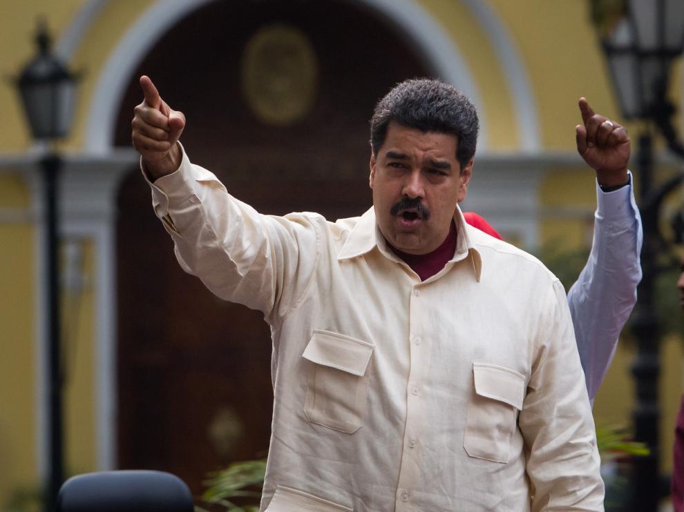 """El presidente de Venezuela participa de el """"Congreso de la Patria"""""""