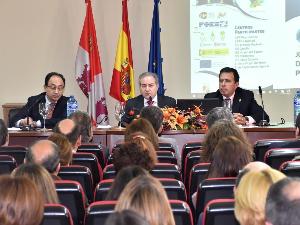 Agustín Sigüenza ha inaugurado las Jornadas de difusión de Formación Profesional