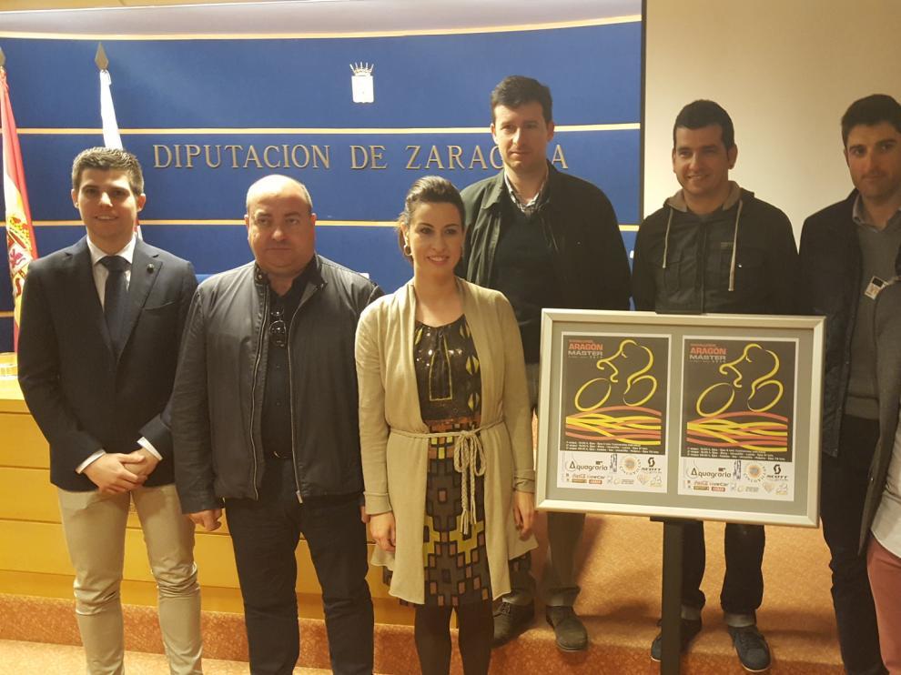 El acto de presentación de la Challenge Aragón Máster 2016