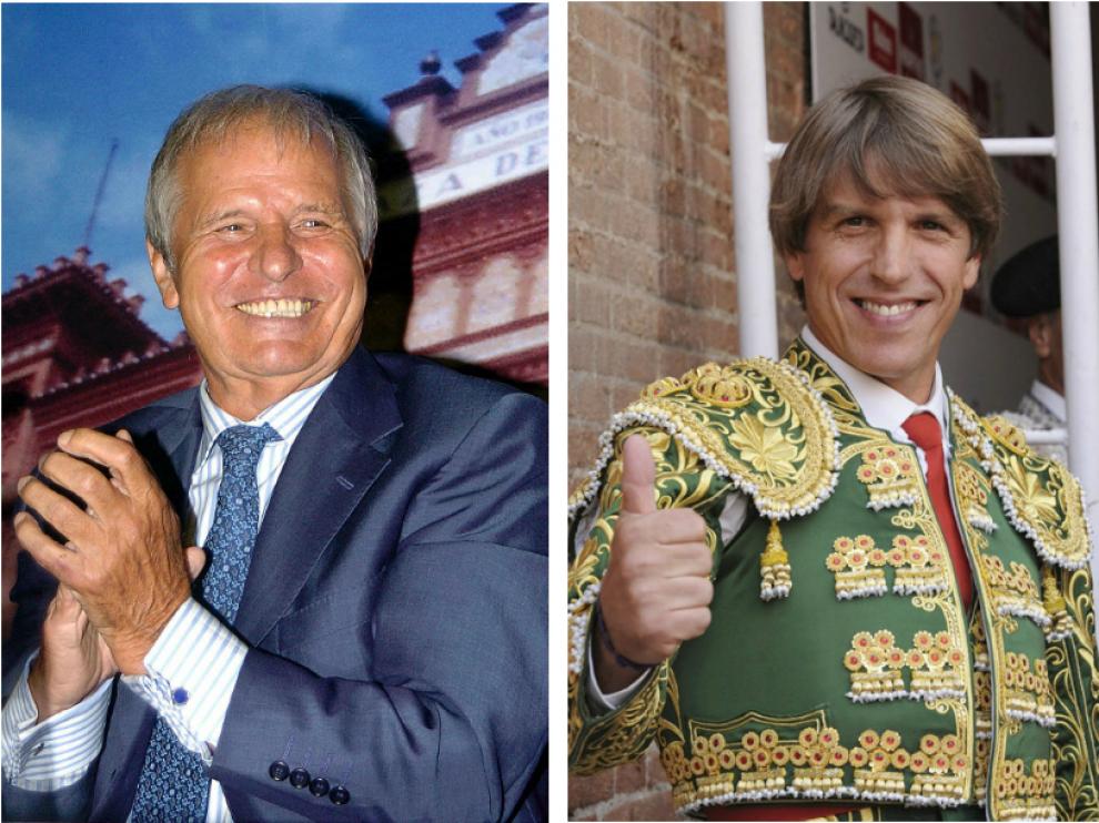 Manuel Benítez, 'el Cordobés', y Manuel Díaz, 'el Cordobés', son padre e hijo.
