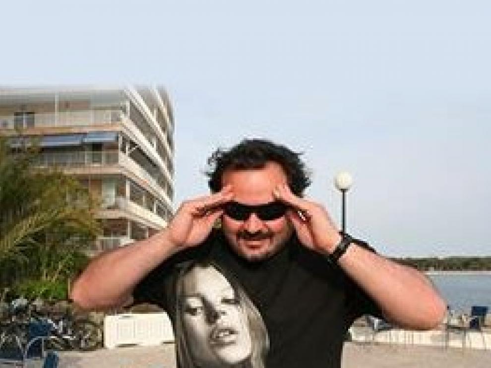 Foto de archivo del actor y director de películas pornográficas Torbe.