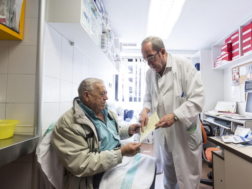 Una consulta para pacientes y familiares