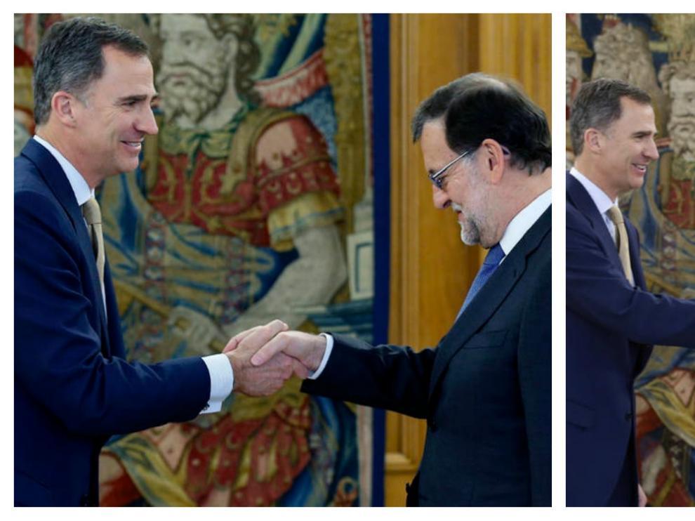 Segundo día de consultas con Felipe VI