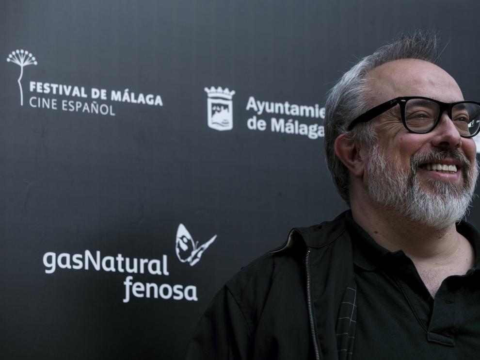El director de cine Álex de la Iglesia en el Festival de Cine de Málaga.