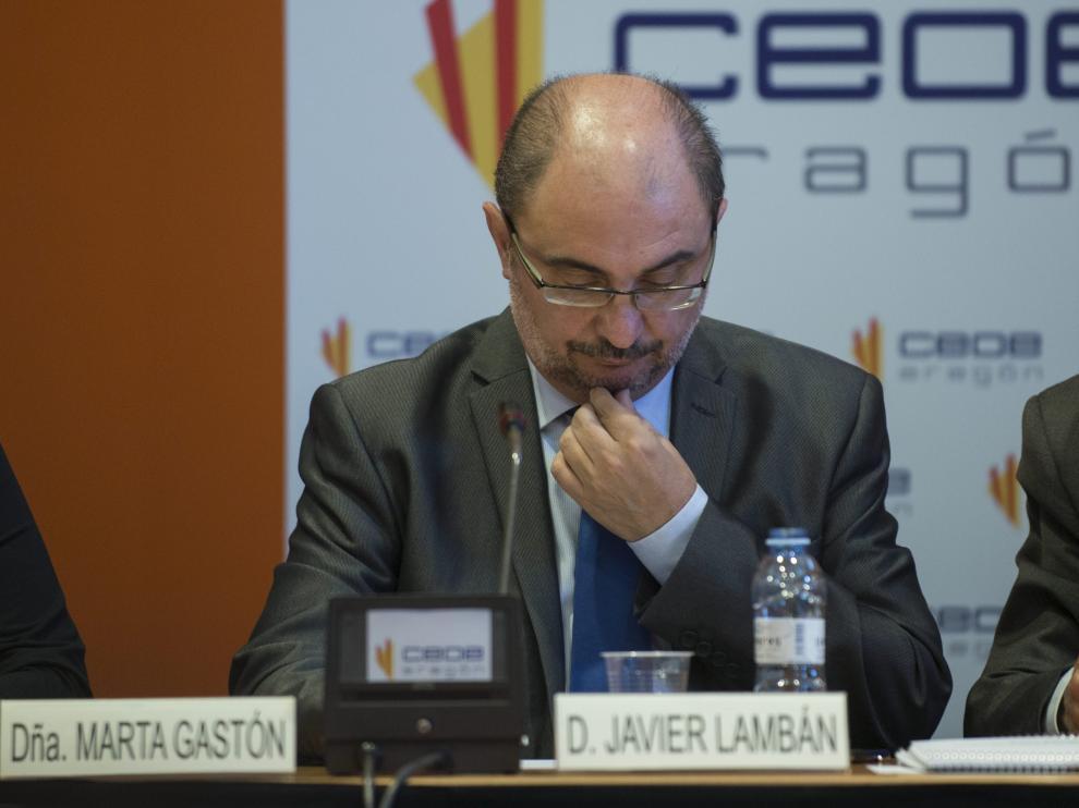 El presidente del Gobierno de Aragón, Javier Lambán, ha confirmado este jueves que la multinacional austriaco-canadiense Magna ubicará en Pedrola