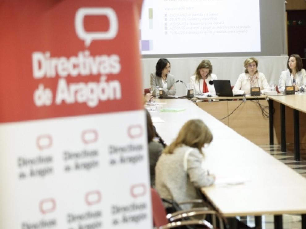 I Foro del Convenio +Directivas con la asociación Directivas de Aragón.