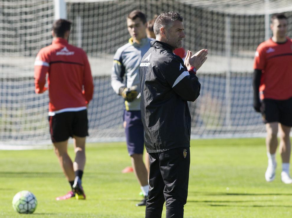 Entrenamiento viernes Real Zaragoza