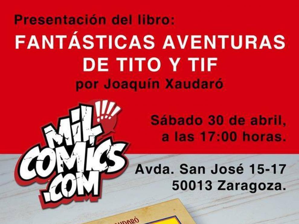 Reedición de las 'Fantásticas aventuras de Tito y Tif'.