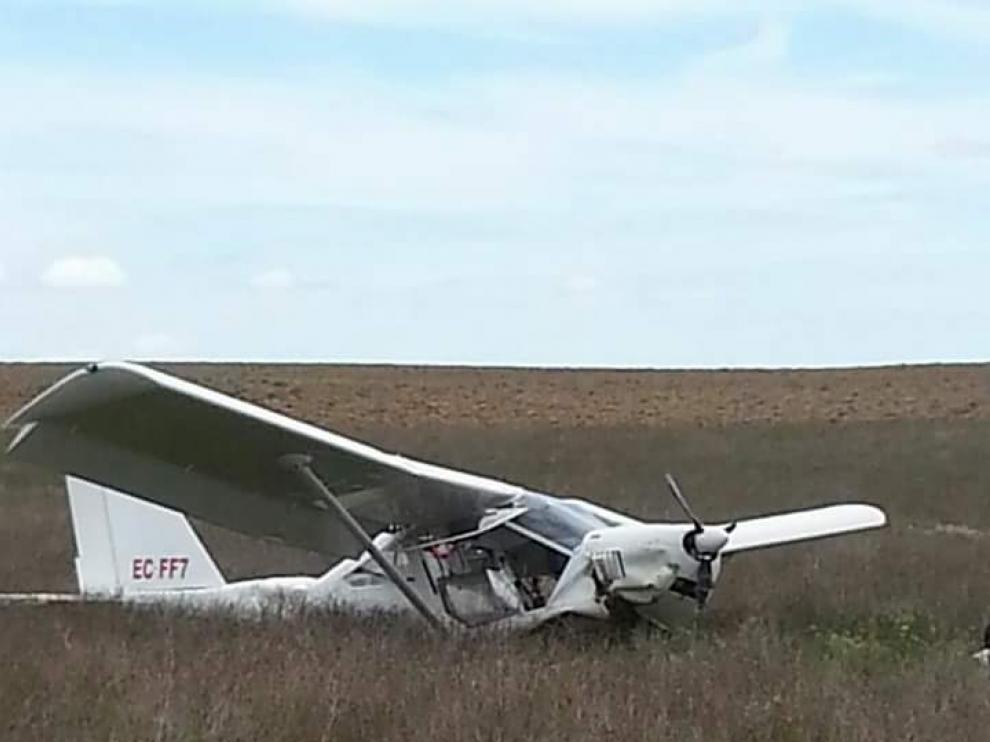 El aparato accidentado es un ultraligero modelo Aeroprat 22