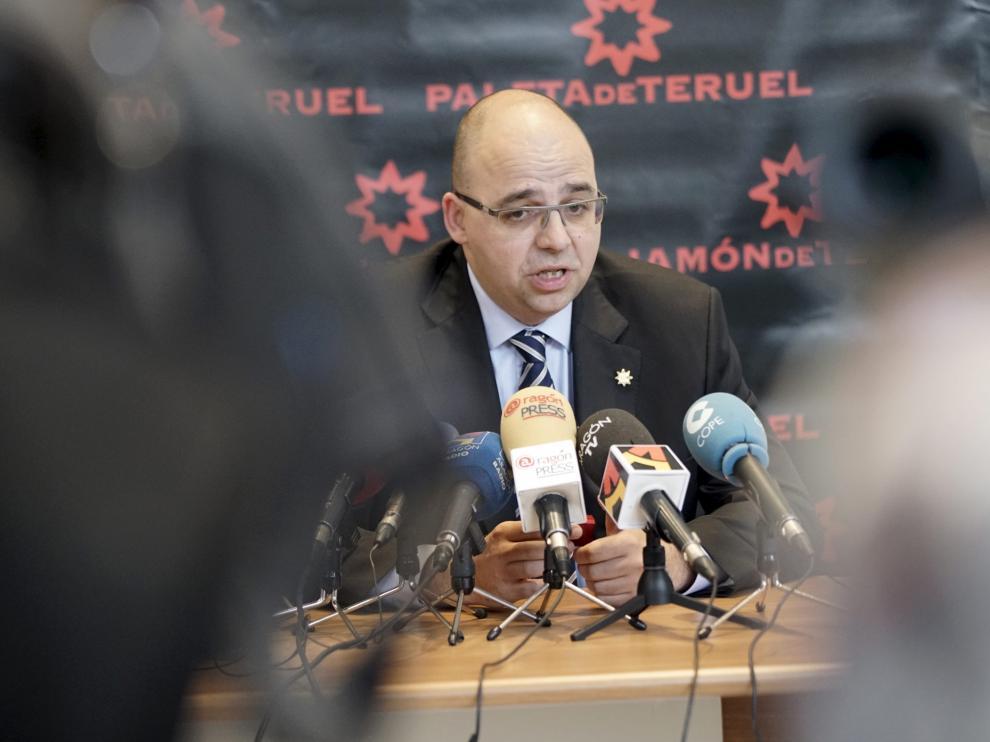 Ricardo Mosteo dio a conocer ayer ante la prensa las líneas de su mandato.