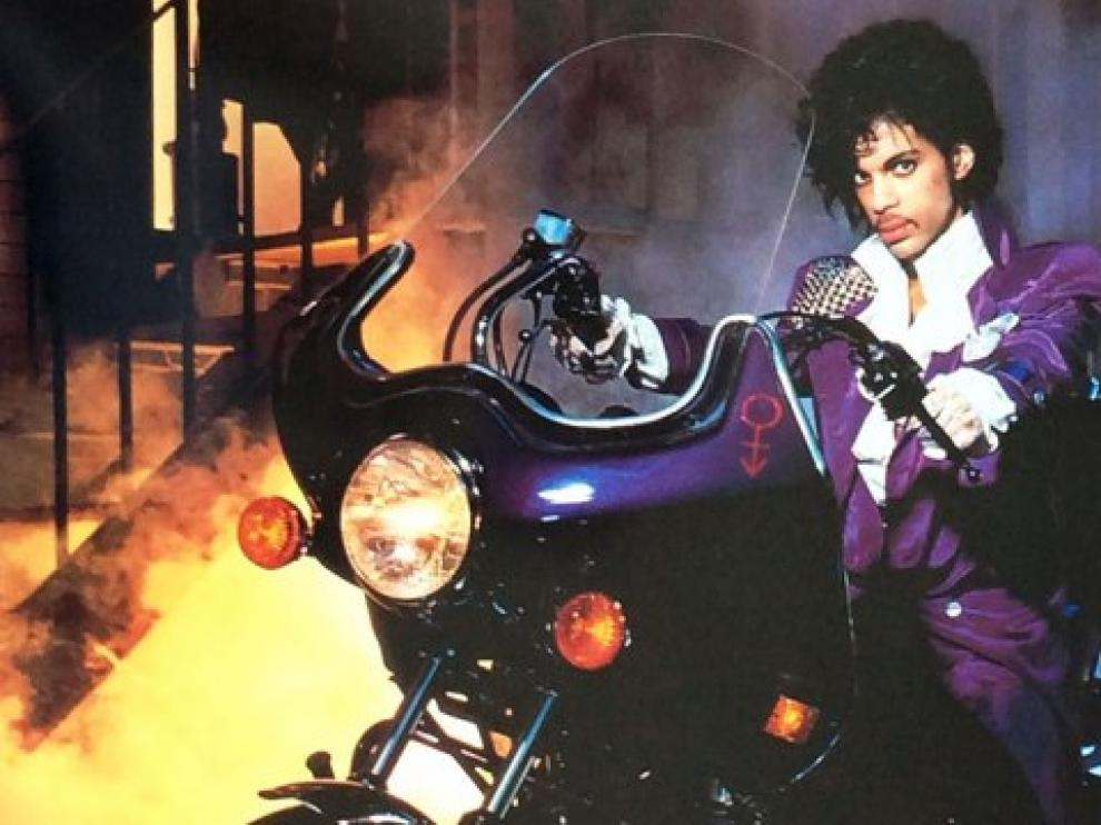 Prince en la película 'Purple Rain'
