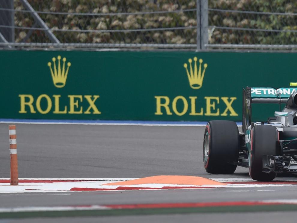 Nico Rosberg rodando este sábado en Sochi.