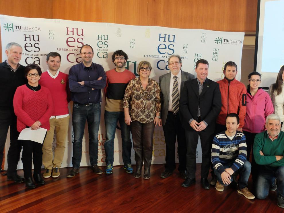 Presentación de la Challenge Huesca en la Diputación Provincial de Huesca.