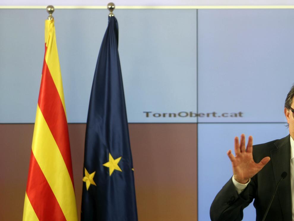 El presidente de CDC, Artur Mas, en una imagen de archivo.