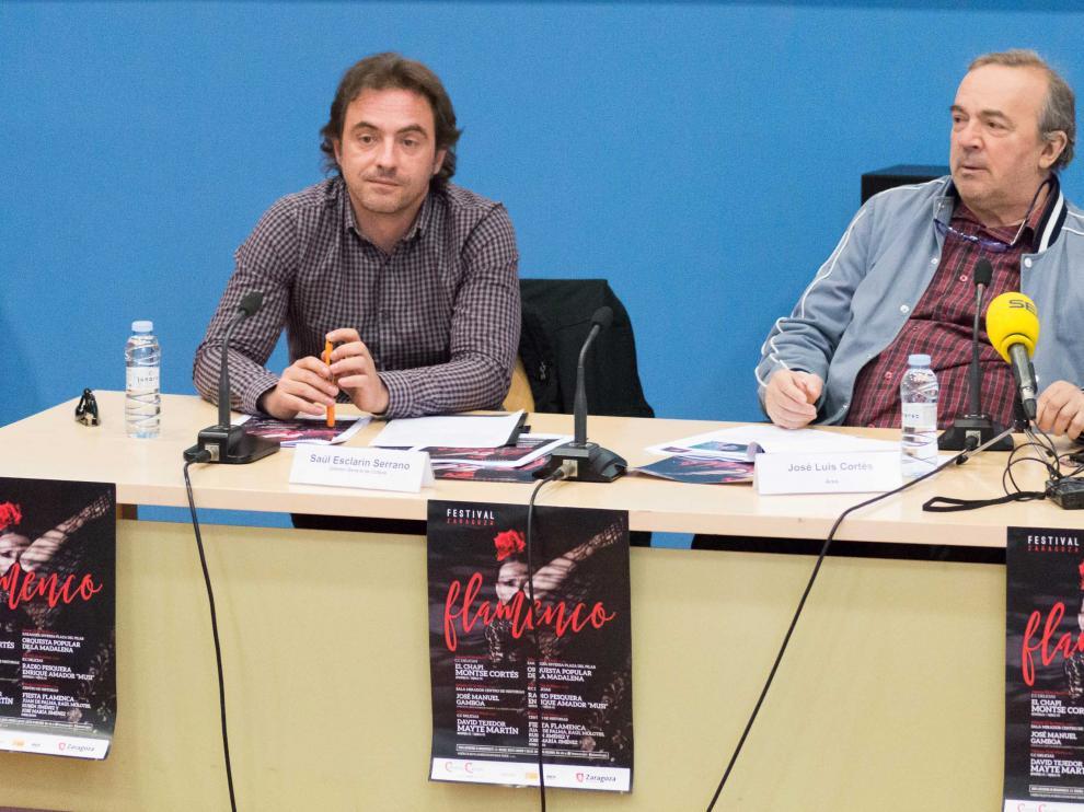 Presentación del Festival de Flamenco de Zaragoza