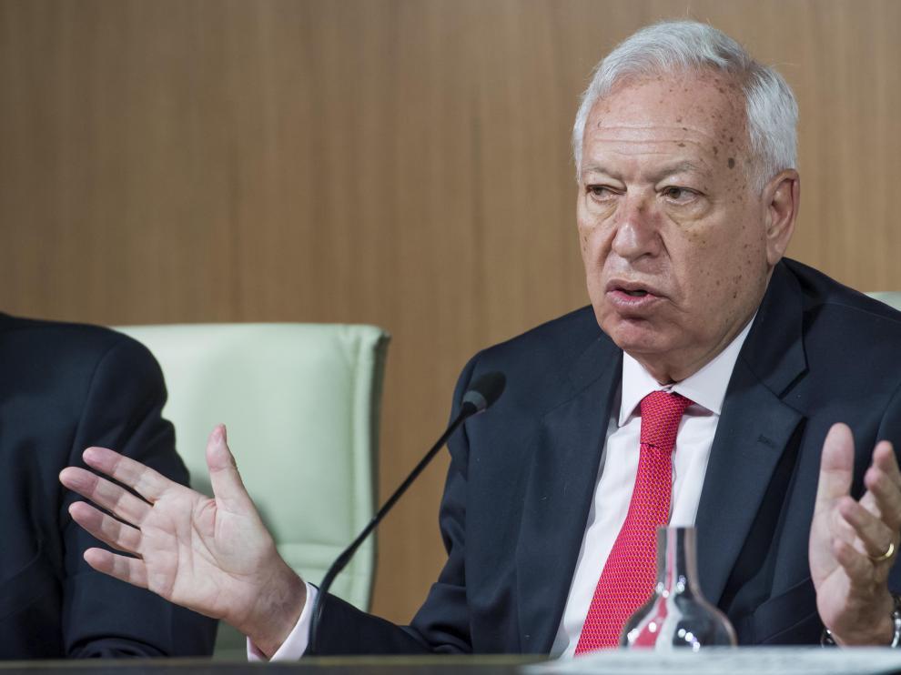 El ministro de Exteriores en funciones, José Manuel García-Margallo