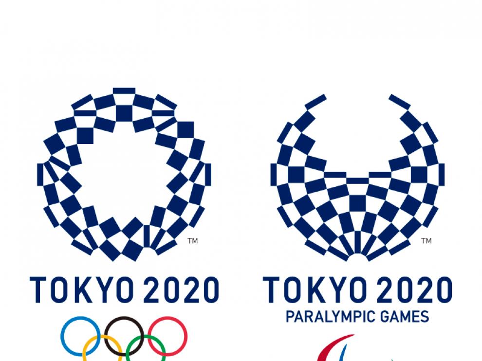 Logos de los Juegos Olímpicos de Tokio 2020.