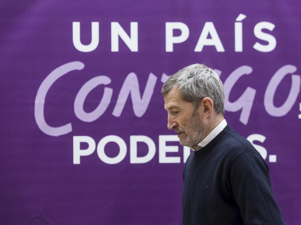 Julio Rodríguez en un acto de la anterior campaña