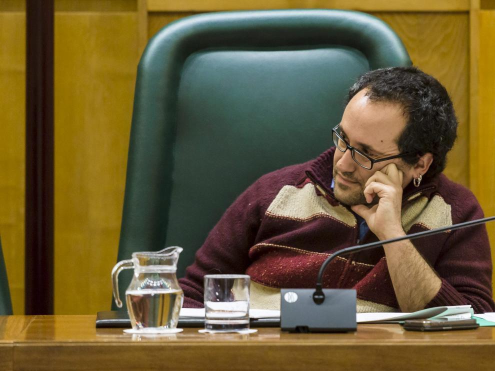 El responsable de Servicios Públicos y Personal, Alberto Cubero, en una imagen de archivo.