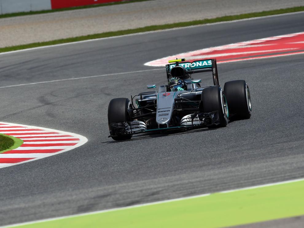 El piloto de Mercedes, Nico Rosberg