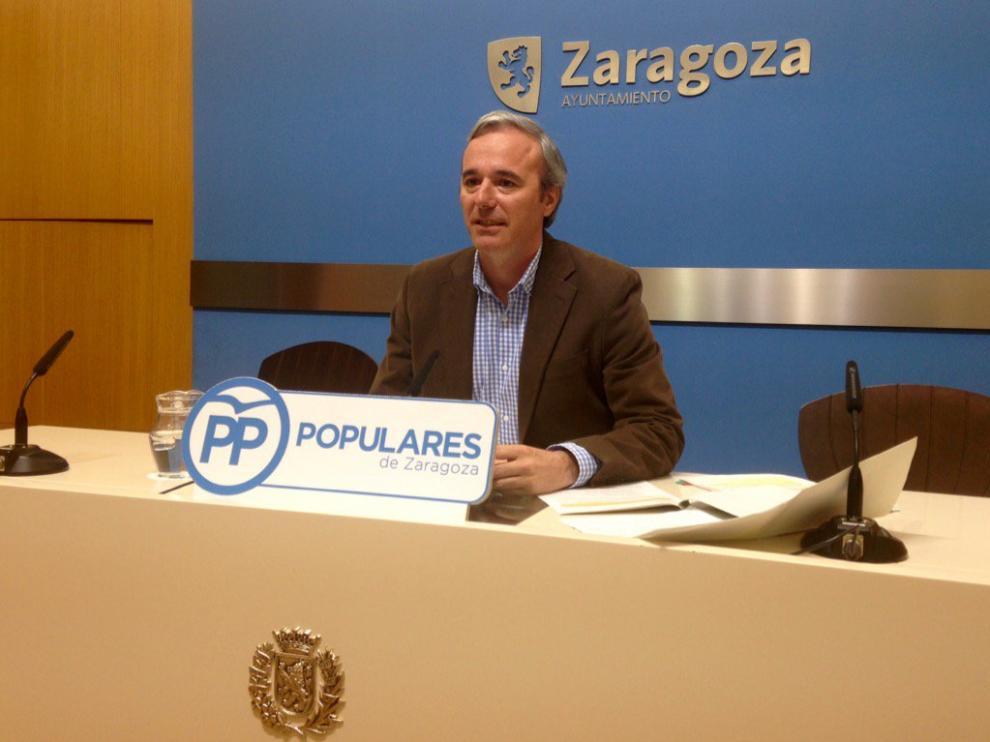 Jorge Azcón en una imagen de archivo